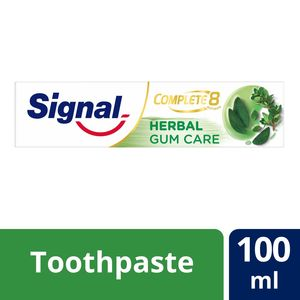 Signal Complete 8 Toothpaste Herbal Gum Care 100ml