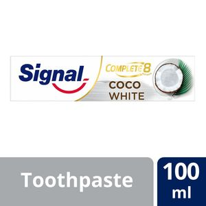 Signal Complete 8 Toothpaste Coco White 100ml