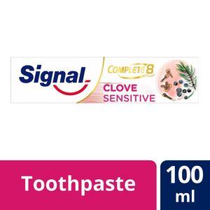 Signal Complete 8 Toothpaste   Clove Sensitive 100ml