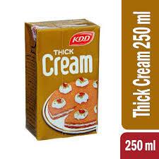 Kdd Thick Cream Qishta 250ml