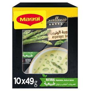 Maggi Excellence Aspragus Soup 10x49g