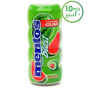 Mentos Pure Fresh Chewing Gum Juice Blast Watermelon 10x24g