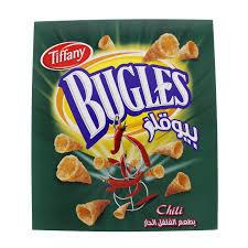 Tiffany Bugles Chilli 25g