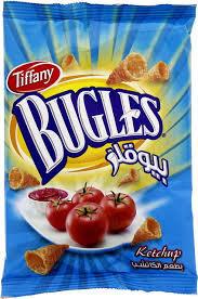 Tiffany Bugles Ketchup 25g