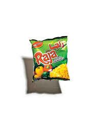 Raja Potato Crunchies Hot 25x15g