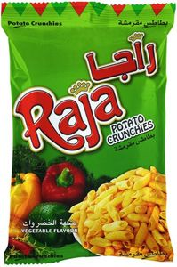 Raja Potato Cruchies Veg 140g