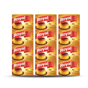 Royal Cream Caramel Mix 12x77g