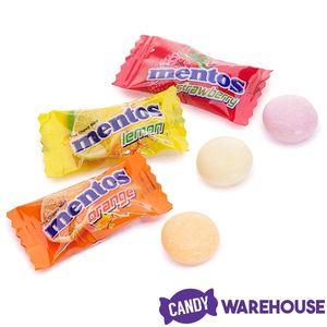 Mentos White Chewing Gum With Tutti Frutti 12x17g
