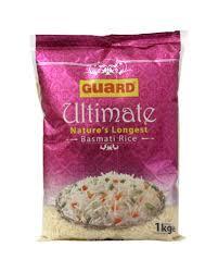 Guard Ultimate Basmati Rice 1kg