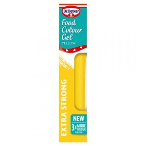Dr Oetker Colour Gel Yellow 15g