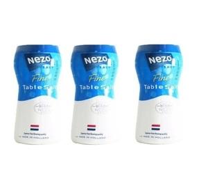 Nezo Fine Table Salt Blue 3x600g