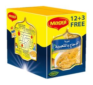 Maggi Chicken Noodle Soup 15x60g