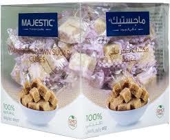 Majestic Brown Sugar Cube 400g