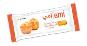 Emi Orange Double Cupcake 70g