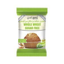 Emi Cupcake Whole Wheat Sugarfree 40g