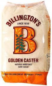 Billington Golden Castr Sugar 500g