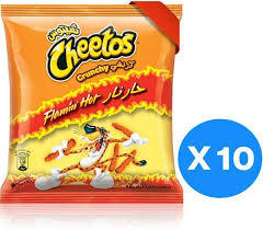 Cheetos Crunchy Flamin Hot 10x54g