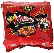 Samyang Double Spicy Chicke Ramen 5x140g