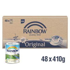 Rainbow Evaporated Milk 48x410g