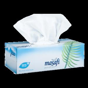 Masafi White Tissue Sterilized 2Ply 150s