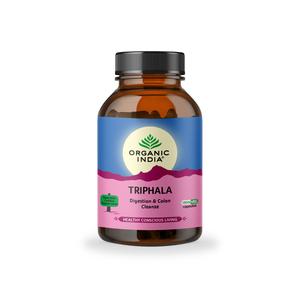 Organic India Triphala Herbal Supplement 90capsules