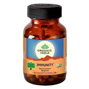 Organic India Immunity Herbal Supplement 90capsules