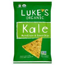 Lukes Kale Multigrain & Seed Chips 142g