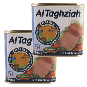 Al Taghziah Luncheon Beef 2x340g