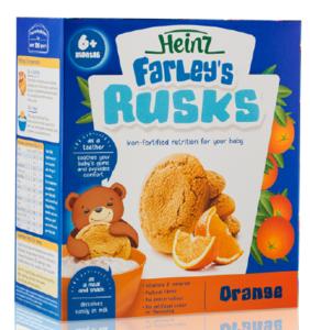 Farley's Rusks 18 Orange 300g