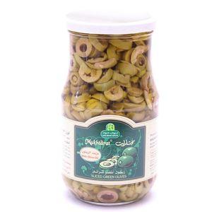Halwani Sliced Green Olives 650g