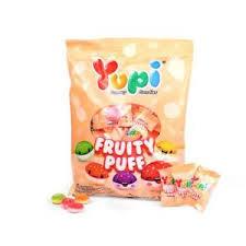 Yupi Gummy Soft Chewy Fruity Puff Candies 120g