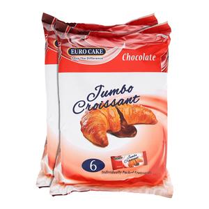 Euro Jumbo Croissant Chocolate Cake 2x300g