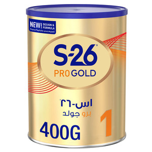 S26 Pro Gold Stage 1 From 0 to 6 Months 400g