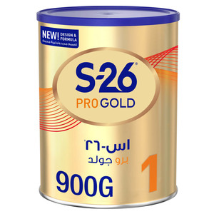 S26 Pro Gold Stage 1 From 0 to 6 Months 900g