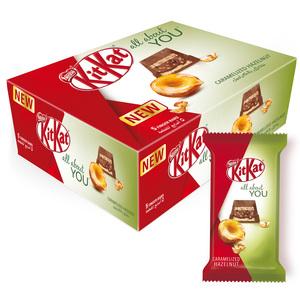 KitKat 5 Finger Caramelized Hazelnut Chocolate Wafer 12x40g