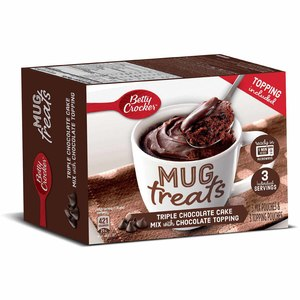 Betty Crocker Mug Treat Triple Chocolate 255g