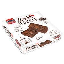 Eurocake Lifestyle Brownie 6pc