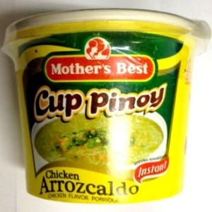 Mothers Best Cup Pinoy Chicken Arrozcaldo 40g
