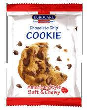 Eurocake Chocolate Chip Cookie 28g