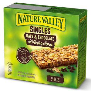 Nature Valley Crunchy Granola Bars Oats And Chocolate Box 9x21g