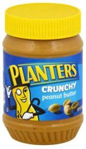 Planter Peanut Butter Crunchy 18oz