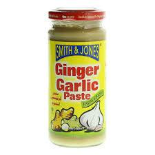 Smith & Jones Ginger & Garlic Paste 250g