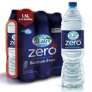 Al Ain Water Zero 6x1.5L