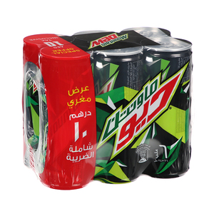Mountain Dew Can 6x245ml