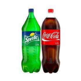 Coke Sprite Fanta Assorted 2x2L