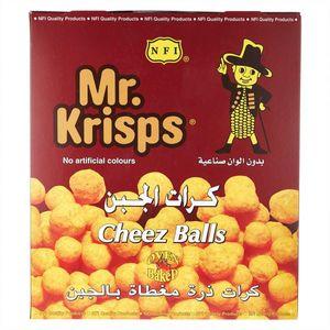 Mr. Krisps Cheez Balls 21x15g