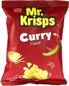 Mr. Krisps Potato Chips Curry Flavor 15g