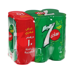 7 Up Can 6x245ml