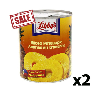 Libby's Pineapple Slices 2x570g
