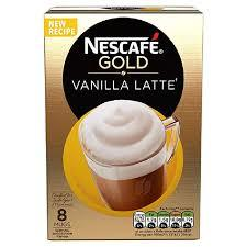 Nestle Nescafe Gold Vanilla Latte 1pkt